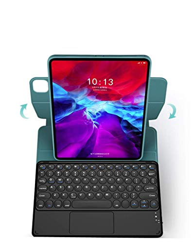 2020 New iPad Air4 Keyboard Case,Wireless Bluetooth Keyboard with touchpad,Magnetic Ultra Slim 3 in 1 Detachable Keyboard for iPad 10.9 4th Gen (iPad 10.9(2020), Pink)