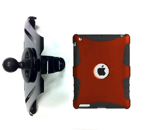 SlipGrip RAM 1.5' Ball Holder for Apple iPad 2 & 3 & 4 GEN Using Seidio Active Case