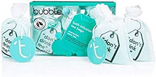 [Bubble T ] バブルトン化粧品モロッコのミントティー風呂輸液トンバッグ - Bubble T Cosmetics Moroccan Mint Tea Bath Infusion T-Bags [並行輸入品]