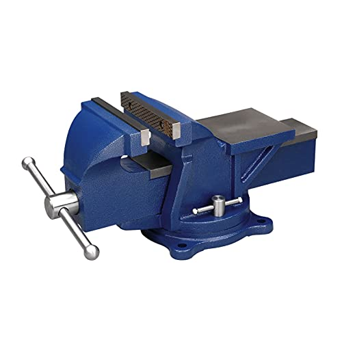 """Wilton 11106 Bench Vise, 6"""" Jaw Width, 6"""" Jaw Opening"""