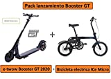 E-Twow Booster GT (2020) 48V Patinete eléctrico Negro