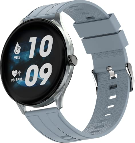 Zebronics Zeb-Fit2220CH Smart Fitness Band, 2.5D Curved Glass Full Touch Display, SpO2, BP & Heart Rate Monitor, IP68 Water...
