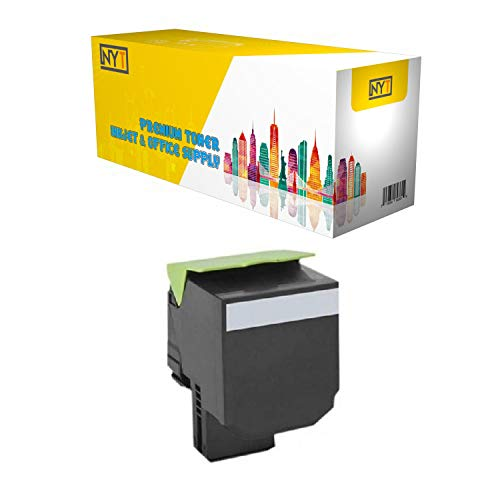 NYT Remanufactured Made in USA High Yield Toner Cartridge Replacement for 71B0H10 71B1HK0 for Lexmark CS417dn, CX417de, CS517de, CX517de (Black, 1-Pack)