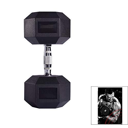 Yajun Fitness Kurzhanteln Set Langhantel Gewichtheben Fitnessstudio Kraft Fitnessgeräte für Haushalts Männer Hexagon Personal Training,10KG