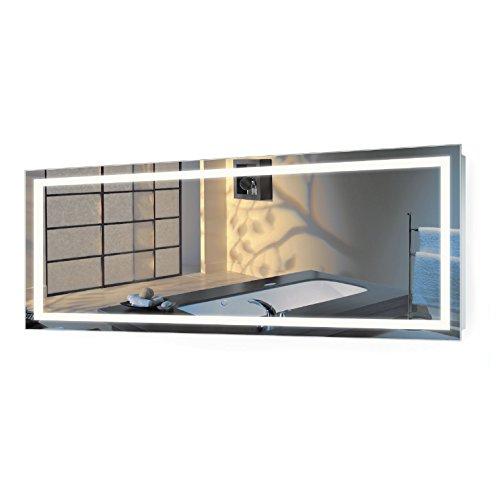 Krugg | Large 72 Inch X 30 Inch LED Bathroom Mirror | Lighted Vanity...