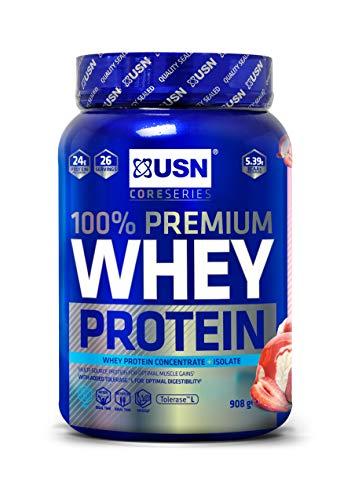 USN 100% Whey Protein 908g- fragola
