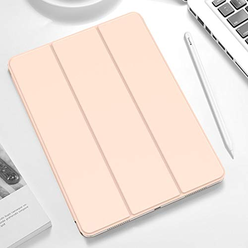 SHYPwM Mobile phone case For IPad Pro 11 Inch (2018) Tablet Cases,Horizontal Flip Leather Case, With Holder & Sleep/Wake-up Function (Color : Pink)