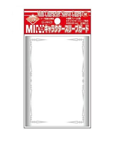 Akashiya Barrier Mini Character Guard Card Sleeves (60 Piece), Clear, 65 x 91mm