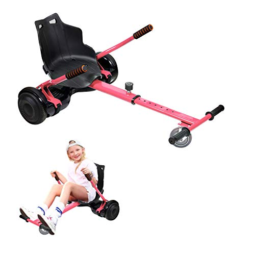 Hoverkart, Kart Ajustable para Scooters eléctricos de autoequilibrio, Asientos de Hoverboard, Karts...