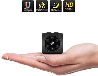 ODLICNO Mini cámara de Seguridad Cámara Oculta HD 1080P Mini Cámara Secreta Cámara de niñera Grabadora de Video en Interiores Activada por Movimiento/Visión Nocturna