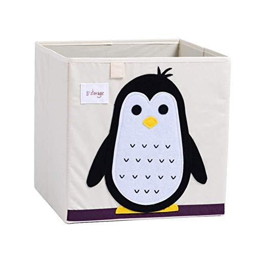 Planken Cartoon Patterned opvouwbare wasmand Toy Storage Cube Washable Organisator Flower Pot Rack XIUYU