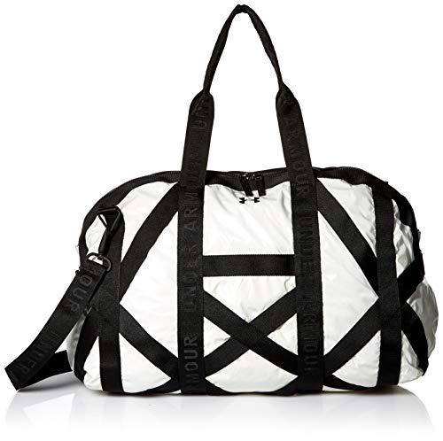 Under Armour Damen-Sporttasche mit Aufschrift This Is It, Damen, Tasche, Womens This Is It Gym Bag, Metallic Cristal Gol (997)/Schwarz, One Size Fits All