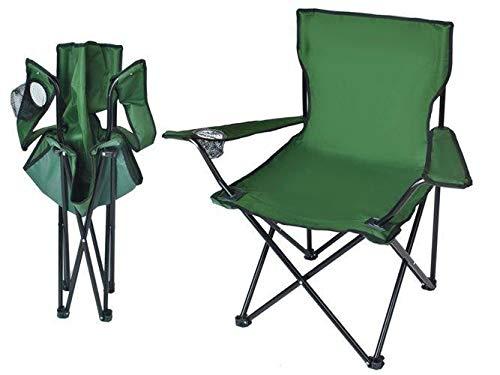 Silla plegable para camping, pesca, pescador, plegable, de lujo, para playa, caza, silla plegable