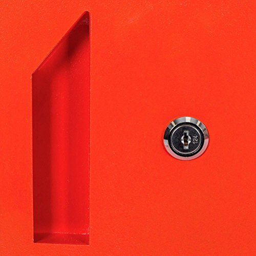 Paketbriefkasten Smart Parcel Box, rot - 8