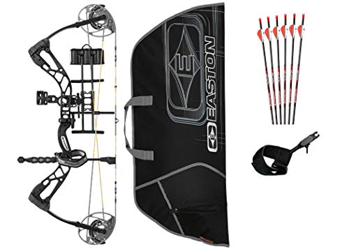 Diamond Edge 320, Black, Right Hand, 7-70lbs, Ready to Hunt Package
