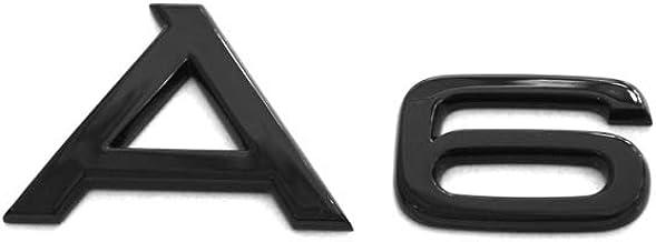 Audi 4k0071803 Schriftzug A6 Schwarz Tuning Exclusive Black Edition Emblem Auto