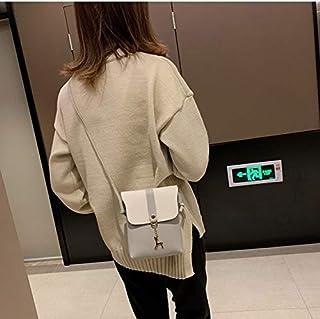 YKDY Shoulder Bag Mini PU Leather Shoulder Bag Ladies Handbag Phone Case (Color : Grey)