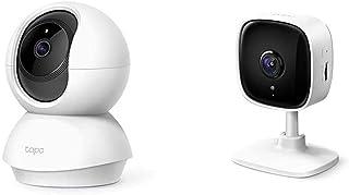 【セット買い】【Amazon Alexa 認定取得】 TP-Link ネットワークWi-Fiカメラ ペットカメラ フルHD 屋内カメラ 夜間撮影 相互音声会話 動作検知 スマホ通知 Tapo C200 3年保証 & TP-Link WiFi カ...