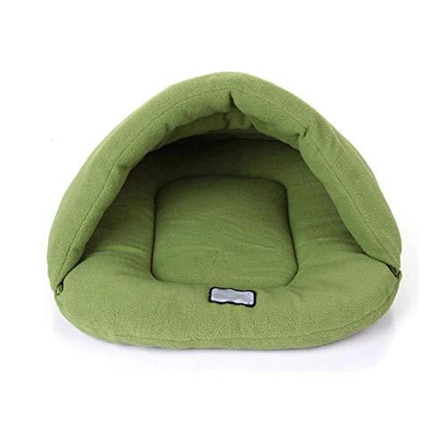 FHKGCD Leuke Warm Huis Slaapzak Mat, Groen, Xs
