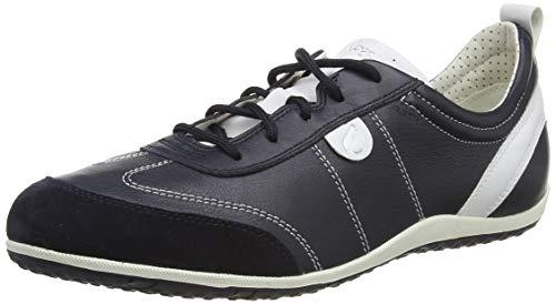 Geox Damen D Vega a Sneaker, Blau (NAVYC4002), 42 EU