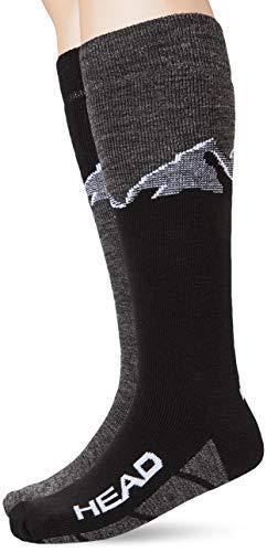 Head Mountain Graphic Kneehigh Ski Socks (2 Pack)...