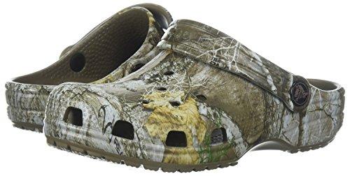 Crocs Kids' Classic Realtree Clog | Camo Slip on Water Shoes