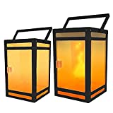 Techko STL-202 Solar Portable Lantern, Black