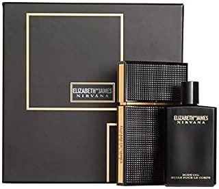 Elizabeth & James Nirvana Black for Her Gift Set Duo - 3.4 oz Eau De Parfum Spray + Body Oil