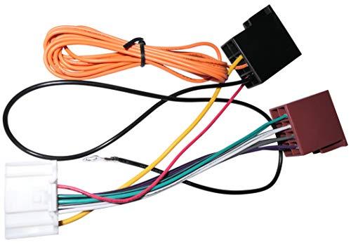 AERZETIX: Fascio adattatore cavo spina ISO per autoradio originale per auto C11931