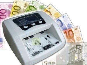 GrecoShop Conta Banconote/Contabanconote con rilevatore di Banconote False/Money Detector
