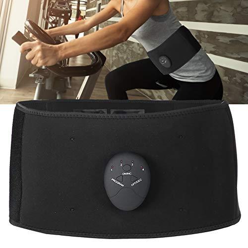 ZJchao Elektrisch Bauchweggürtel, Profi EMS Muskelstimulation Trainingsgerät, atmungsaktiv und angenehm zu tragen Bauchtrainer für Bauch Rücken Arme