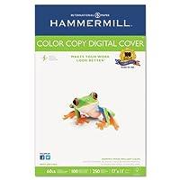 Hammermill–コピー機デジタルカバーストック、60lbs。, 17x 11、ホワイト、250シート12255–6( DMI PK