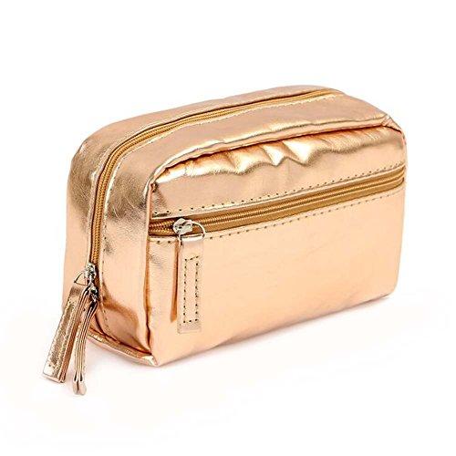 Sac de luxe de sac de voyage de sac de voyage de femmes d'or
