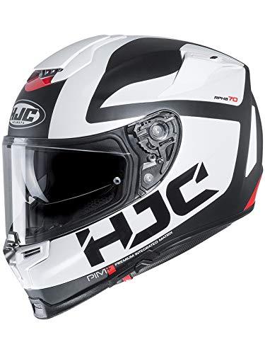 Casco Moto Hjc Rpha 70 Balius Bianco (M, Bianco)