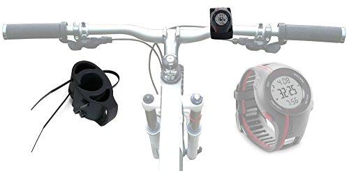 DURAGADGET Supporto Manubrio Bicicletta per Garmin Forerunner 235 / Vivoactive HR / 630/10 / 15/310 XT / 920 XT / 910 XT / 405CX / 610/220 / 210/110 / 620/410 / 405