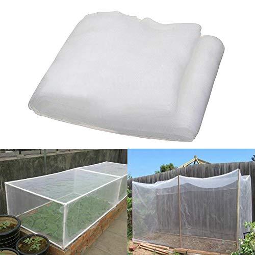 Preisvergleich Produktbild Gartennetz,  30 g / m²,  40 g / m²,  feinmaschig,  Pflanzenschutznetz,  Gemüse,  Obst,  Blumen,  Gewächshaus,  Schädlingsbekämpfung