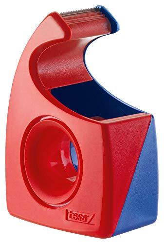 Tesa Tesafilm Abroller (Wellenmesser, bis Rollenbreite 19 mm, rot/blau) 57443-00001-01