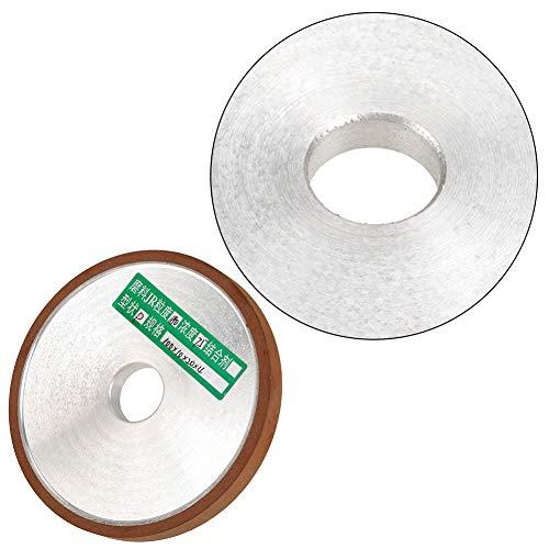 Roadiress Disco de muela de resina de diamante, para cortador de amoladora pulido grano 180 1 unids 1002010 mm 1 x muela