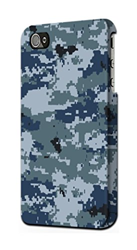 R2346 Navy Camo Camouflage Graphic Case Cover For IPHONE 5C