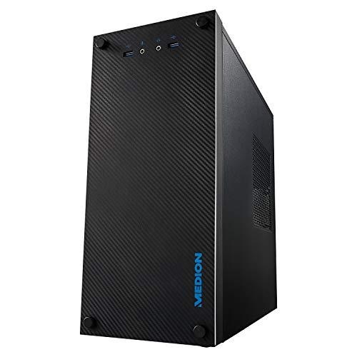 MEDION E32013 Desktop PC (AMD Ryzen 5 PRO 4650G Prozessor, 512GB PCIe SSD, 8GB DDR4 RAM, Radeon Graphics, Win 10 Home)