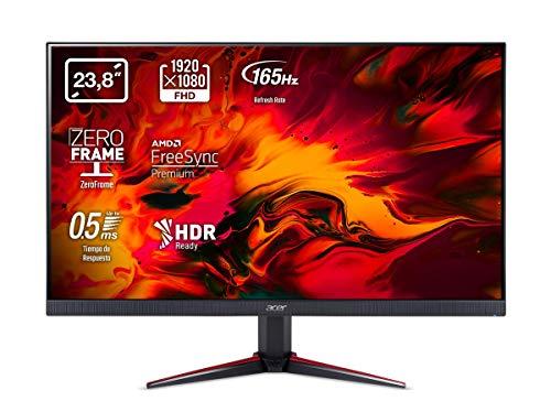 Acer VG240YS Gaming Monitor 23,8 Zoll (60 cm Bildschirm) Full HD, 165Hz OC, 144Hz, 2ms (G2G), 2xHDMI 2.0, DP 1.2, HDMI/DP FreeSync