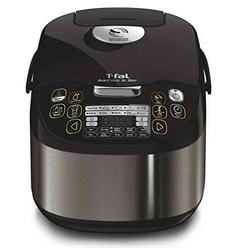 T-fal T-fal ActiCook and Stir RK901B51, One-Pot multicooker, 18 pre-Set Cooking Programs Including Bread Makers Machine, deep Fryer, Slow Cooker,...