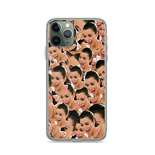 Crying Kim Kardashian Phone Case Compatible with iPhone 12 11 X Xs Xr 8 7 6 6s Plus Mini Pro Max Samsung Galaxy Note S9 S10 S20 Ultra Plus Mini