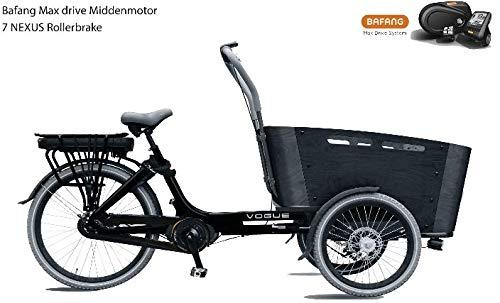 Elektro Transportfahrrad 7 Gang Bakfiets Vogue Carry kaufen  Bild 1*