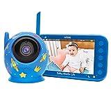 SoyMomo Baby monitor wireless con fotocamera e audio, monitor intelligente per bambini, co...