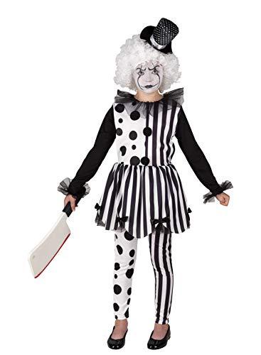 Clown Republic- Mauvaise Pierrot Traje, Multicolor (Clownrepublic 79110/10)