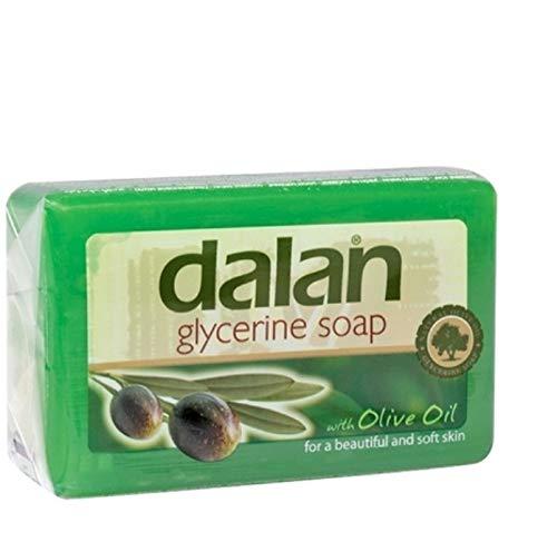 3 x Dalan d'Olive 100% Olivenölseife - Glycerin Seife - 180 g