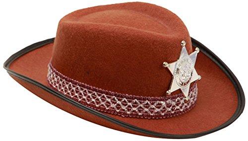My Other Me - Sombrero de vaquero para niño, talla única, color marrón (Viving Costumes MOM01601)