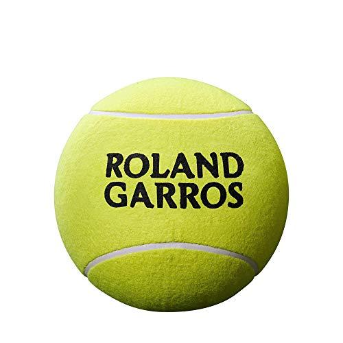 Wilson Roland Garros, WRT1419YD Pallina da Tennis Jumbo, 9 Pollici, Giallo