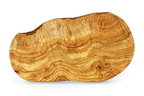 Tramanto Olive Wood Cheese and Serving Board Large 16 x 8 Inch